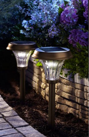 Bright Solar Path Lights That Shine Light Up To 4 Feet Out