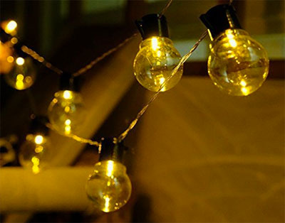 Globe Bulbs - Almost Like Vintage Edison Solar String Lights