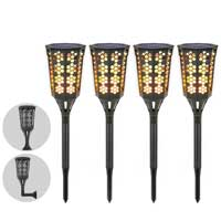 Moko Flickering Flame Torch Lights with Wall Lamp Attachment