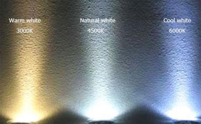 Warm White VS White LED